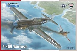 Curtiss P-40N Warhawk 1/72