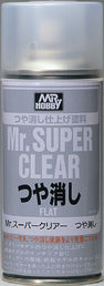 MR SUPER CLEAR FLAT SPRAY 170ml - MATTALAKKA