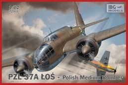 PZL 37A Los (single tail fin) - Polish Medium Bomber 1/72