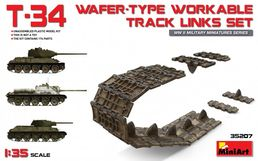 T-34 wafer-type workable track links set 1/35