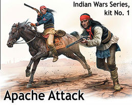 """Apache Attack"" Indian Wars series 1/35"