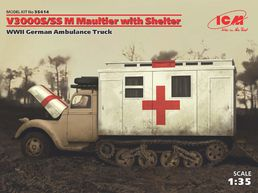 Ford V3000S/SS M Maultier with shelter 1/35