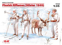 Finnish Riflemen (Winter 1940) (4 figures) 1/35