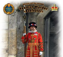 "Royal Yeoman Warder ""Beefeater"" 1/16"