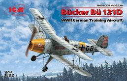 Bücker Bü 131D German Training Aircraft 1/32