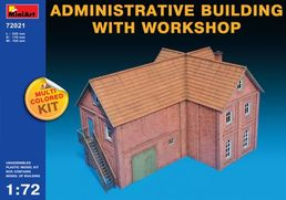 Administrative Building with Workshop 1/72