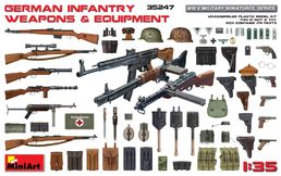 WW2 German infantry weapons & equipment 1/35