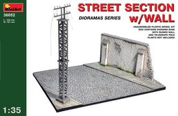Street section with wall 1/35