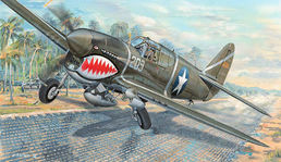 Curtiss P-40F Warhawk USAAF 1/32