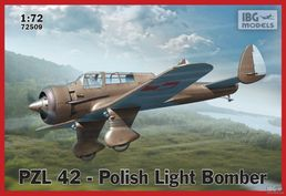 PZL 42 Polish Light Bomber 1/72