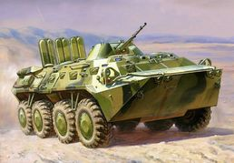 BTR-80 Russian Armored Personel Carrier 1/100 SNAP