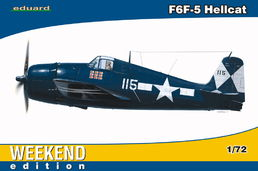 Grumman F6F-5 Hellcat WEEKEND 1/72