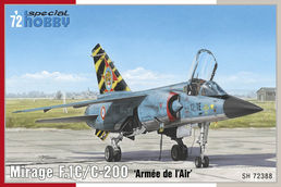 Mirage F.1C/C-200  'Armée de `l Air' 1/72