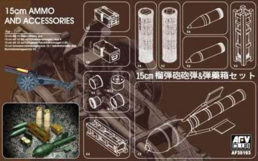 15cm AMMO and Accessories 1/35