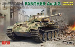 Panther Ausf.G Early/Late productions in 1:35