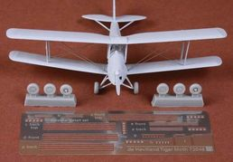 de Havilland Dh.82a Tiger Moth rigging set & wheels 1/72  for AIRFIX