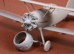 Gloster Gladiator engine & cowling set 1/48 for Roden / Eduard