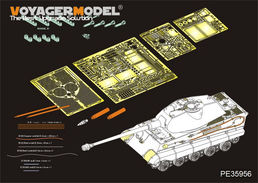 WWII German King Tiger (Porsche Turret)(MENG TS-037) 1/35
