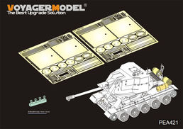 WWII  Soviet tank exterior tanks and smoke gernerators 2.0(For All) 1/35