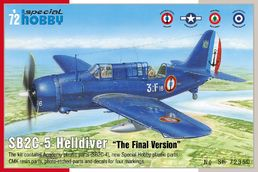 "Curtiss SB2C-5 Helldiver ""final version"" 1/72"