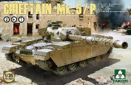 British Chieftain Mk.5 / Mk.5P tank 1/35