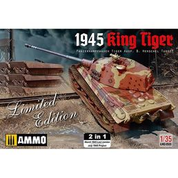 King Tiger (Henschel Turret) 1945 (2in1) 1/35
