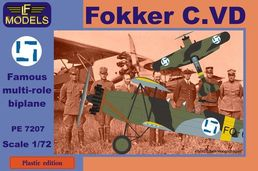 Fokker C.VD (Panther) SUOMI 1/72