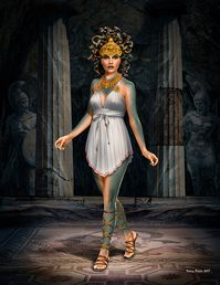 Ancient Greek myths Series - Medusa 1/24