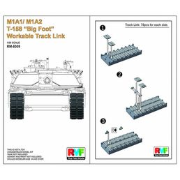 "Workable T-158 ""Big Foot"" Tracks for M1A1/M1A2 Abrams 1/35"