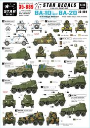 BA-10 & BA-20 armoured cars SUOMI & others 1/35