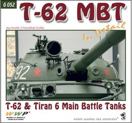 T-62 and Tiran 6 MBT in detail